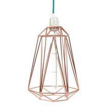 FilamentStyle Diamond #5 Hanglamp Verlichting Koper Staal
