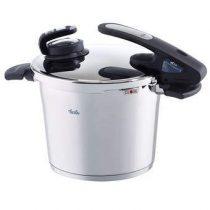 Fissler Vitavit Edition Digital Snelkookpan 6 L Pannen Zilver RVS
