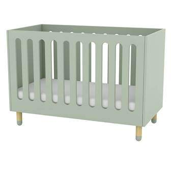 Flexa Play Babybed Baby & kinderkamer Groen MDF