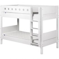 Flexa White Stapelbed Baby & kinderkamer Wit MDF
