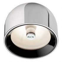 Flos Wan C/W Plafondlamp Verlichting Grijs Aluminium