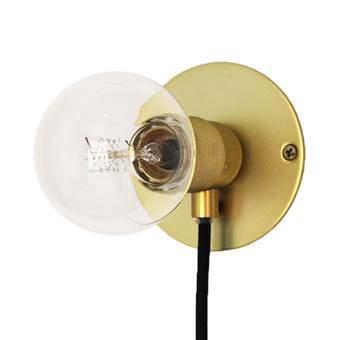 Frama E27 Wall Light Wandlamp M Ø 25 cm Verlichting Goud Messing