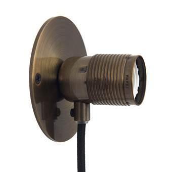 Frama E27 Wall Light Wandlamp S Ø 10 cm Verlichting Brons Brons