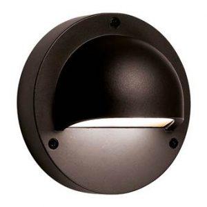 Garden Lights Deimos Wandlamp 12V Buitenverlichting Zwart Aluminium