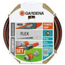 Gardena Comfort Flex Tuinslang met armaturen 20 m Tuinbewatering Grijs
