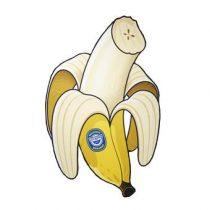 Gigantic Banana Strandlaken 150 cm Badtextiel Multicolor Katoen