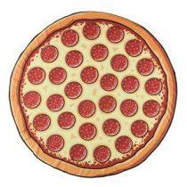 Gigantic Pizza Strandlaken 150 cm Badtextiel Multicolor Katoen
