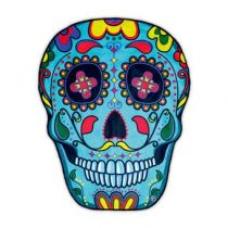 Gigantic Skull Strandlaken 150 cm Badtextiel Multicolor Katoen