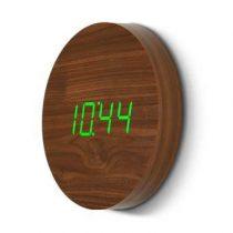 Gingko Wall Click Klok Ø 25 cm Klokken Bruin Hout