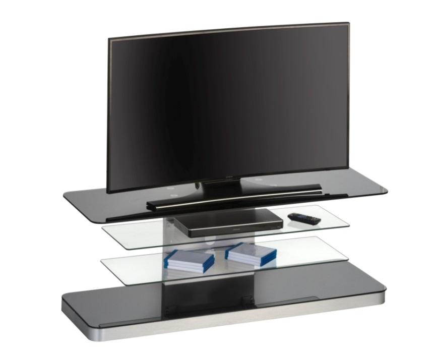 Glazen Tv Meubels : Glazen tv meubel menno zwart woon woon