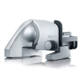 Graef C10 Classic Snijmachine Keukenapparatuur Zilver Kunststof