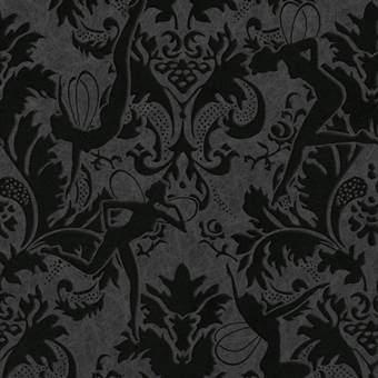 Graham & Brown Forest Muse Behang Marcel Wanders Wanddecoratie & -planken Zwart Papier