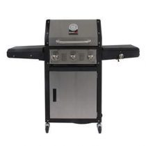 GrandHall Xenon 3 Barbecues Zilver Staal