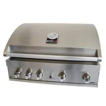 Grandhall Elite GT4S-S Built in Barbecues Zilver RVS