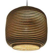 Graypants AUSI 14 Hanglamp Verlichting Bruin Karton