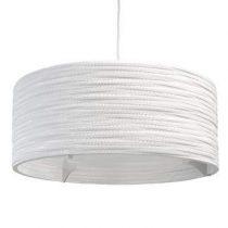 Graypants Drum 24 Hanglamp Verlichting Wit Glas