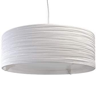 Graypants Drum 36 Hanglamp Verlichting Wit Glas