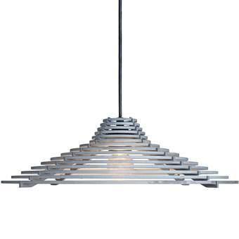 Graypants ECHO Hanglamp Ø 44 cm Verlichting Grijs Aluminium