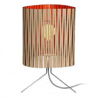 Graypants Leland Tafellamp Verlichting Rood Karton