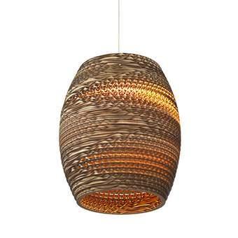 Graypants Olive Hanglamp  Verlichting Bruin Karton
