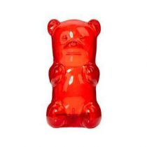 GummyGoods Nachtlampje Baby & kinderkamer Rood Rubber