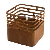 Höfats Cube Terrashaard Terrasverwarming Bruin Staal