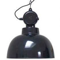 HKliving Factory Hanglamp M Ø 40 cm Verlichting Zwart Metaal