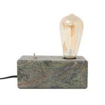 HKliving Forest Marble Brick Tafellamp Verlichting Grijs Marmer