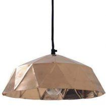 HKliving Hanglamp Diamond Verlichting Koper Koper