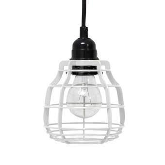 HKliving Lab Hanglamp met plafondkapje Verlichting Wit Metaal