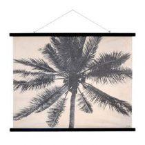 HKliving Palmen Schoolplaat 85 x 105 cm Wanddecoratie & -planken Multicolor Hout