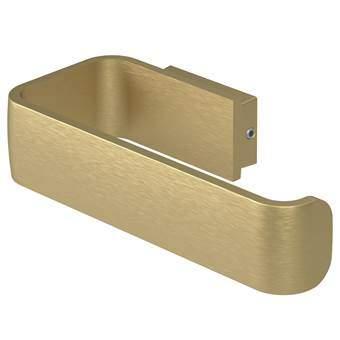 Haceka Aline Toiletrolhouder Toiletaccessoires Goud Aluminium