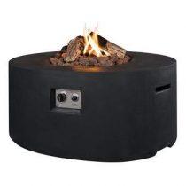 Happy Cocooning Cocoon Table Terrasverwarming Zwart Steen