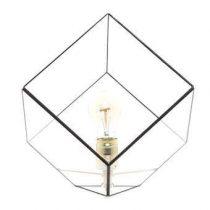 Hart & Ruyt Liv Tafellamp Verlichting Zwart Glas