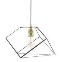 Hart & Ruyt Mae Hanglamp Verlichting Zwart Glas