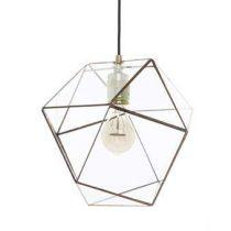 Hart & Ruyt Yaz Hanglamp Verlichting Koper Glas
