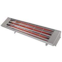 Heatstrip Max 2400 Terrasverwarmer Terrasverwarming Zilver Aluminium