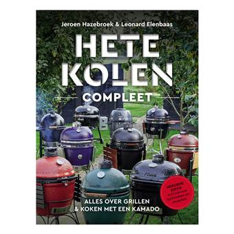 Hete Kolen compleet - Jeroen Hazebroek Barbecue accessoires