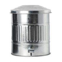 House Doctor Afvalbak 15 L Afvalemmers Zilver IJzer