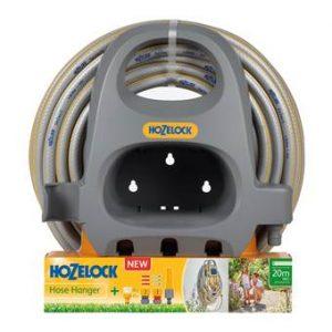 Hozelock Premium Set Muurhaspel met 20 m Tuinslang  Tuinbewatering Geel