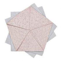 Iittala X Issey Miyake Onderzetter Ø 15 cm Tafelpresentatie Roze Polyester