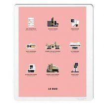 Image Republic Le Duo Architecture Poster 40 x 50 cm Wanddecoratie & -planken Multicolor Papier