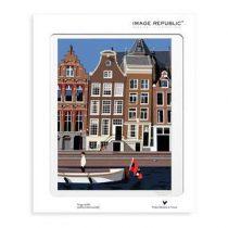 Image Republic Paolo Mariotti Amsterdam Poster 30 x 40 cm Wanddecoratie & -planken Multicolor Papier