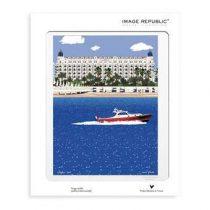 Image Republic Paolo Mariotti Cannes Poster 30 x 40 cm Wanddecoratie & -planken Multicolor Papier