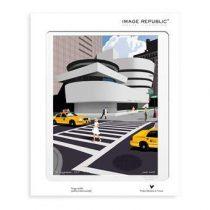 Image Republic Paolo Mariotti Guggenheim Poster 30 x 40 cm Wanddecoratie & -planken Multicolor Papier