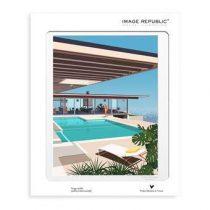 Image Republic Paolo Mariotti Stahl House Poster 30 x 40 cm Wanddecoratie & -planken Multicolor Papier