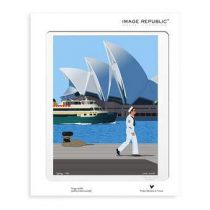 Image Republic Paolo Mariotti Sydney Poster 30 x 40 cm Wanddecoratie & -planken Multicolor Papier