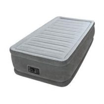 Intex Comfort Plush Horizontal Beam Luchtbed Twin Outdoor & kamperen Grijs Polyester