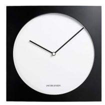 Jacob Jensen 320 Wandklok 35 x 35 cm Klokken Zwart Aluminium