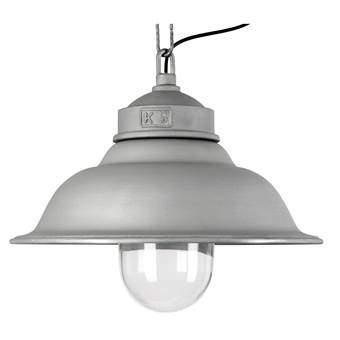 KS Verlichting Vintage & Retro Porto Fino Hanglamp Verlichting Grijs Aluminium